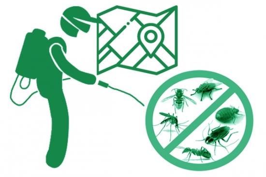 Обработка участка территории от комаров, мух, ос, муравьев, клещей