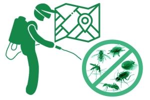 Дезинсекция участка, территории от насекомых паразитов